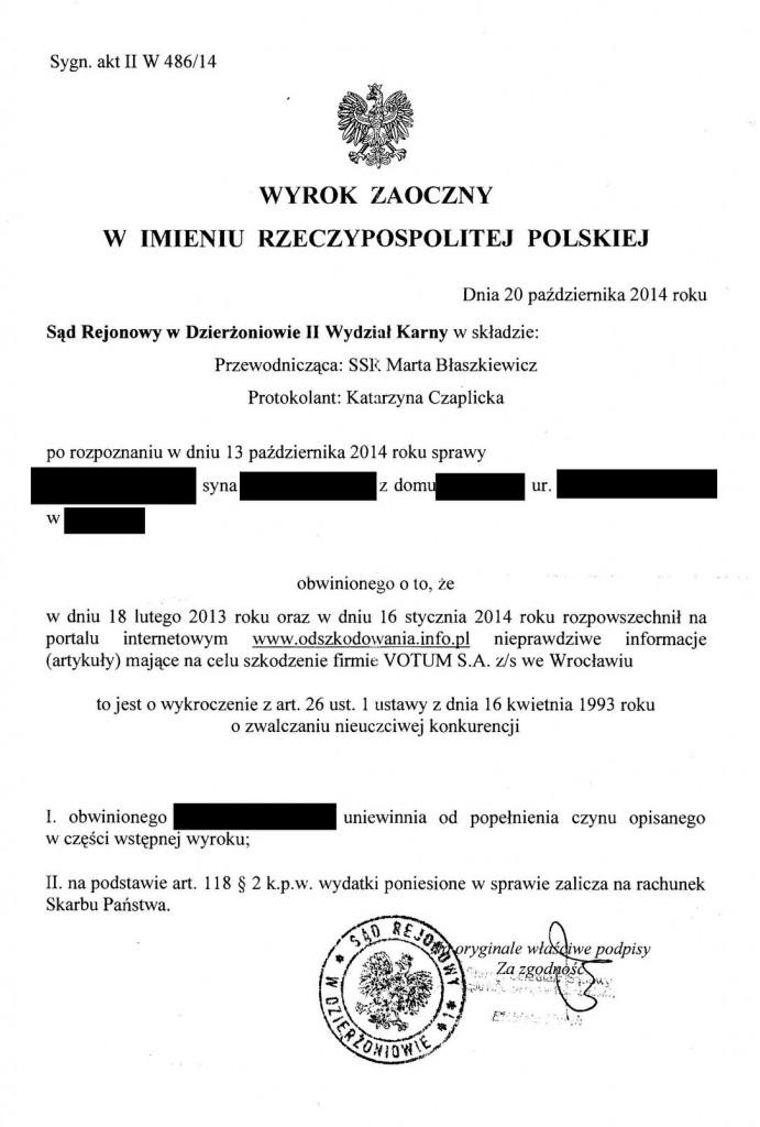 wyrok_SR_dzierzoniow_IIW-486-14